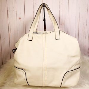 Coach Winter White Leather Bag